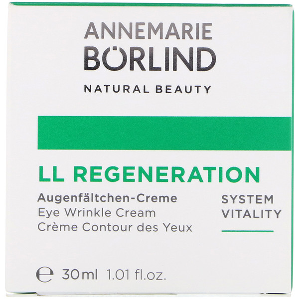 AnneMarie Borlind, LL Regeneration, Eye Wrinkle Cream, 1.01 fl oz (30 ml)