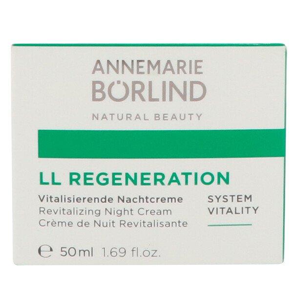 AnneMarie Borlind, LL Regeneration, crema revitalizante de noche, 1.69 fl oz (50 ml)
