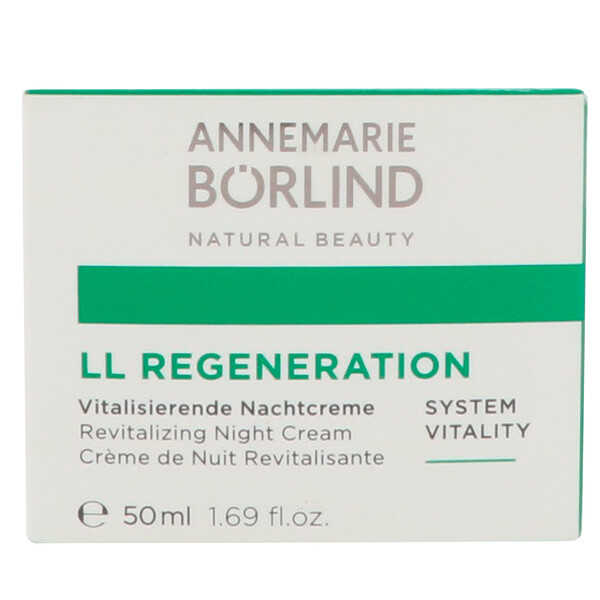 AnneMarie Borlind, LL Regeneration、活性化ナイトクリーム、1.69 fl oz (50 ml)