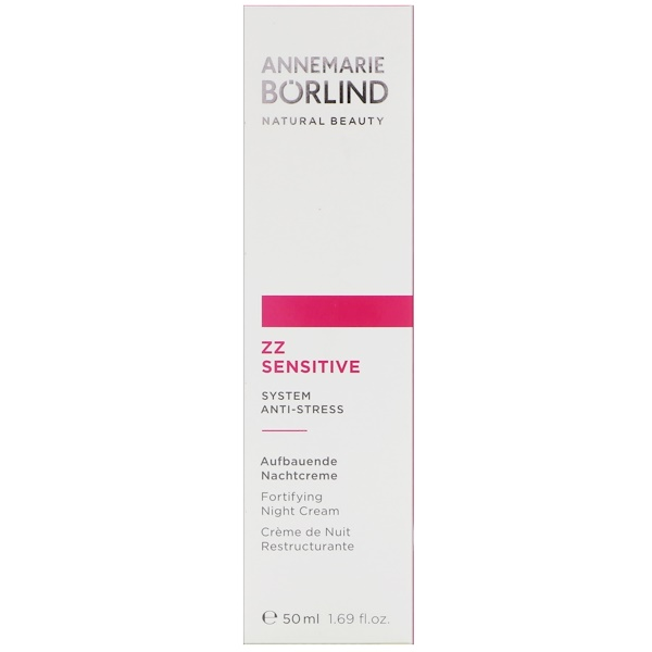 AnneMarie Borlind, ZZ Sensitive, Fortifying Night Cream, 1.69 fl oz (50 ml)