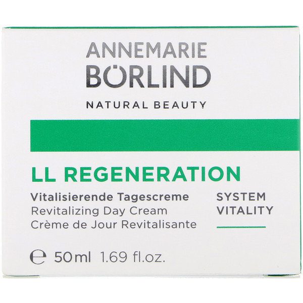 AnneMarie Borlind, LL Regeneration, Revitalizing Day Cream, 1.69 fl oz (50 ml)