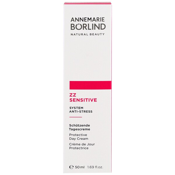 AnneMarie Borlind, ZZ Sensitive, Sistema Anti-Stress, Creme Diurno, frasco de 1,69 oz (50 ml)
