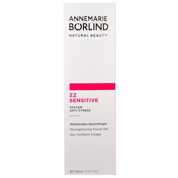 AnneMarie Borlind, ZZ Sensitive, Gel raffermissant pour le visage, 5,07 fl oz (150 ml)