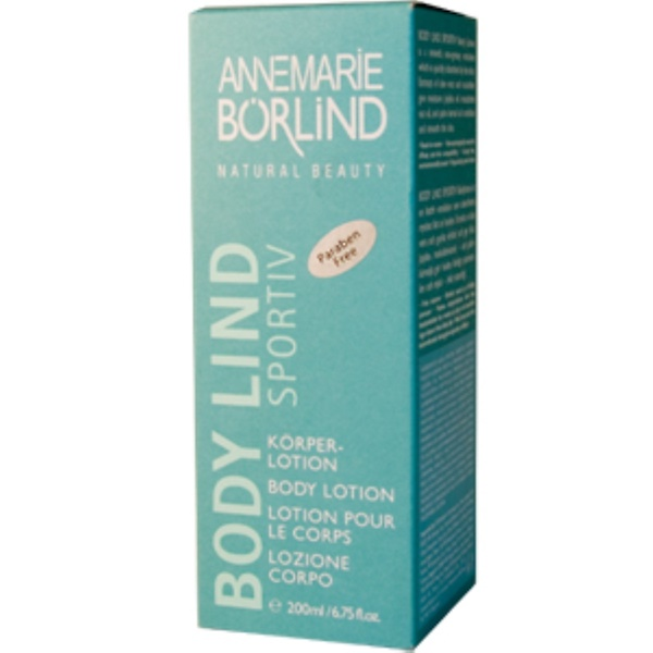 AnneMarie Borlind, Body Lind Sportiv, Body Lotion, 6.75 fl oz (200 ml) (Discontinued Item)