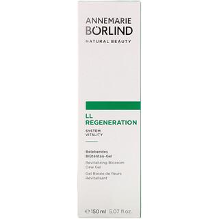 AnneMarie Borlind, LL Regeneration، جل ندى الزهور، 5.07 أونصة سائلة (150 مل)
