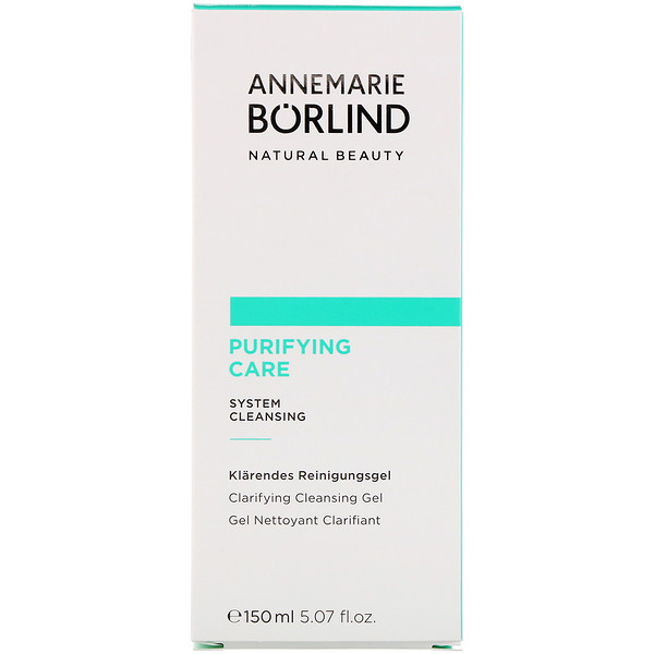 AnneMarie Borlind, Purifying Care, Clarifying Cleansing Gel, 5.07 fl oz (150 ml) (Discontinued Item)
