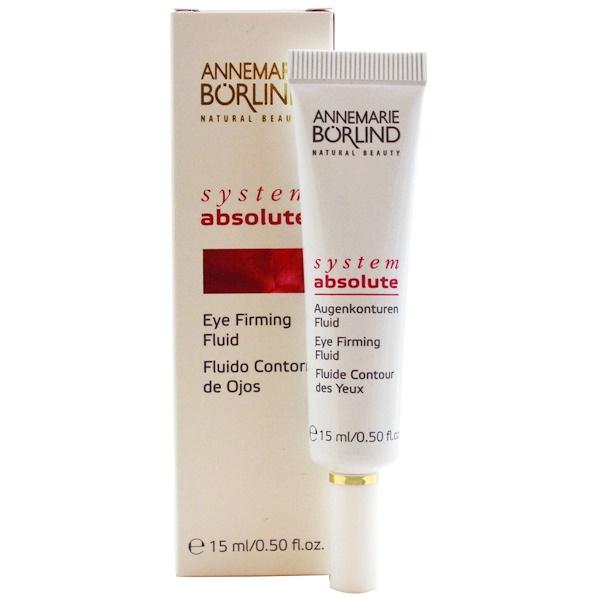 AnneMarie Borlind, System Absolute, Eye Firming Fluid, 0.50 fl oz (15 ml) (Discontinued Item)