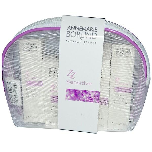 AnneMarie Borlind, ZZ Sensitive Travel Kit, 4 Pieces (Discontinued Item)