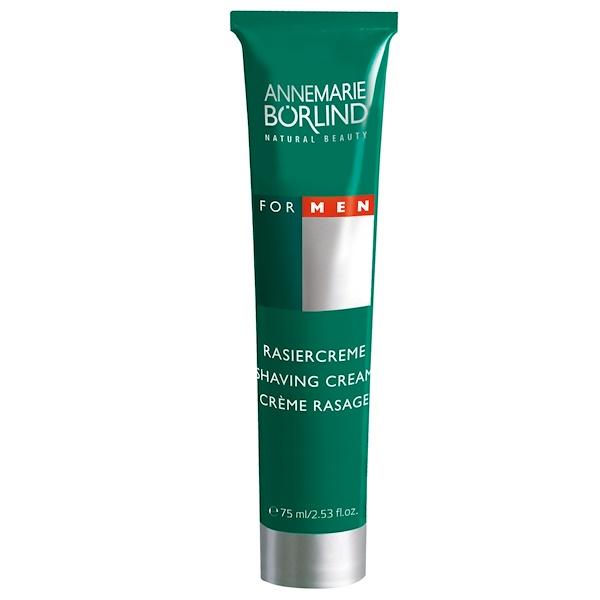 AnneMarie Borlind, 케어링 쉐이빙 크림, 남성용, 2.5 fl oz (75 ml)