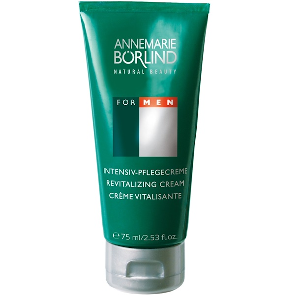 AnneMarie Borlind, Anti-Ageing Revitalizing Cream, For Men, 2.53 fl oz (75 ml) (Discontinued Item)