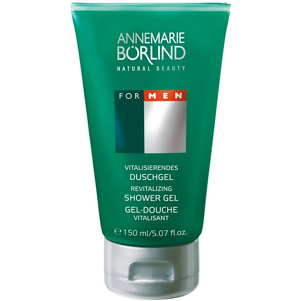 AnneMarie Borlind, Revitalizing Shower Gel, For Men, 5.07 fl oz (150 ml) (Discontinued Item)