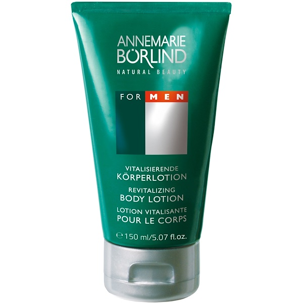 AnneMarie Borlind, Revitalizing Body Lotion, For Men, 5.07 fl oz (150 ml) (Discontinued Item)