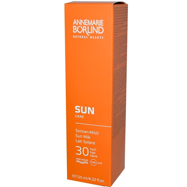 AnneMarie Borlind, Sun Care, Sun Milk, 30 High, 4.22 fl oz (125 ml) (Discontinued Item)