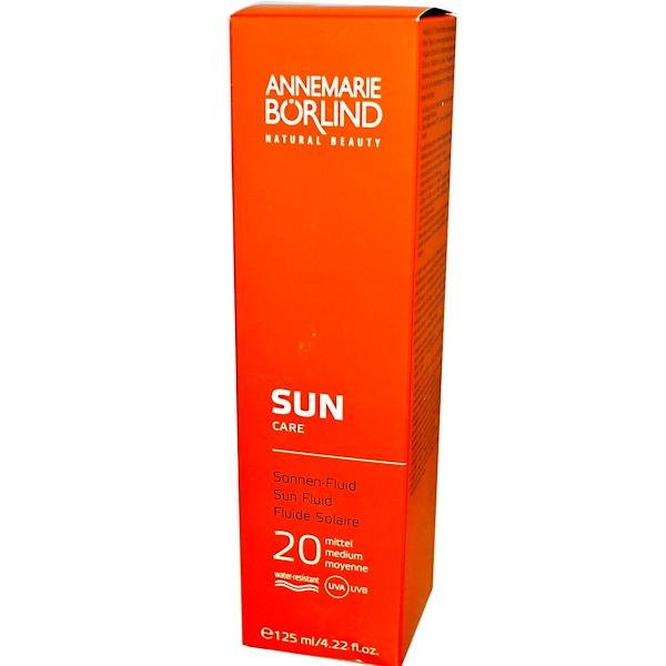 AnneMarie Borlind, Sun Care, Sun Spray, 20 Medium, 3.38 fl oz (100 ml) (Discontinued Item)