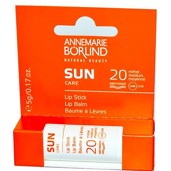 AnneMarie Borlind, Sun Care, Lip Balm, SPF 20, 0.17 oz (5 g) (Discontinued Item)
