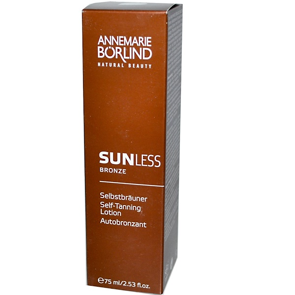 AnneMarie Borlind, Sunless Bronze, Self-Tanning Lotion, 2.53 fl oz (75 ml) (Discontinued Item)