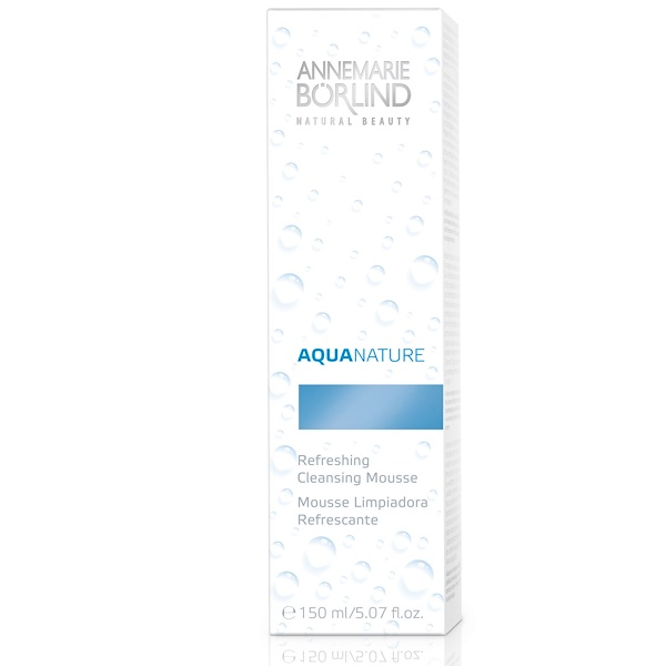AnneMarie Borlind, Aqua Nature, Refreshing Cleansing Mousse, 5.07 fl oz (150 ml) (Discontinued Item)