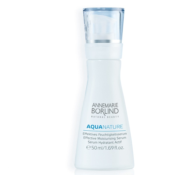 AnneMarie Borlind, Aqua Nature, Effective Moisturizing Serum, 1.69 fl oz (50 ml) (Discontinued Item)