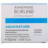 Отзывы о AnneMarie Borlind, AquaNature, Rehydrating Night Cream, 1.69 fl oz (50 ml)