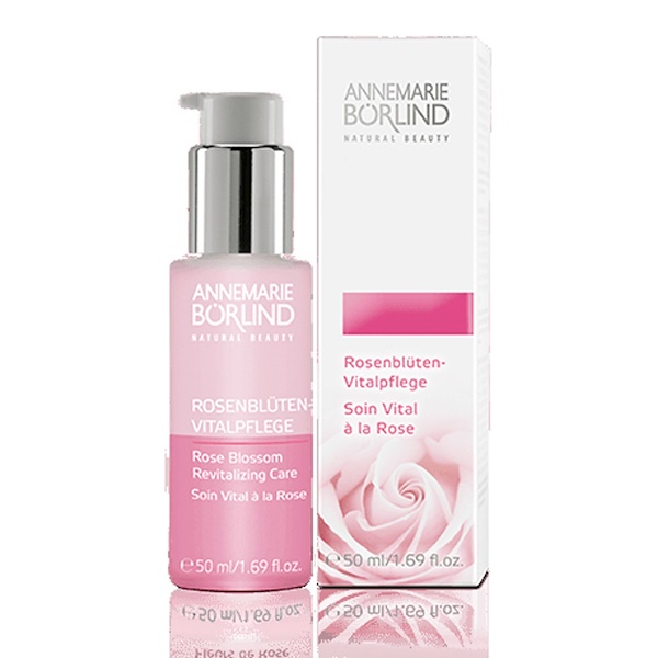 AnneMarie Borlind, Natural Beauty, cuidado revitalizante, pétalos de rosa, 1.69 fl oz (50 ml)