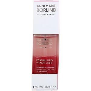 АннМари Борлинд, Natural Beauty, Rose Blossom Vital Care, 1.69 fl oz (50 ml) отзывы