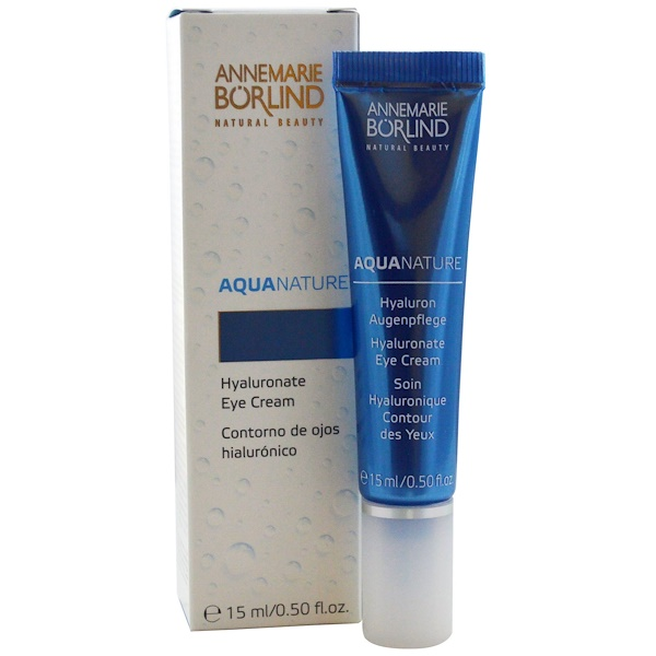 AnneMarie Borlind, Aqua Nature, Hyaluronate Eye Cream, 0.50 fl oz (15 ml) (Discontinued Item)