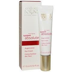 AnneMarie Borlind, System Absolute, Anti-Aging Eye Cream, 0.50 fl oz (15 ml)
