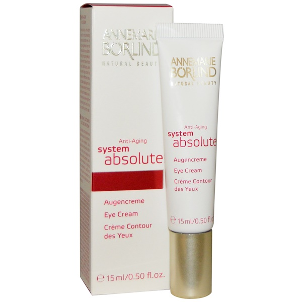 AnneMarie Borlind, System Absolute, Crema para los Ojos Anti-Edad, 0.50 fl oz (15 ml)