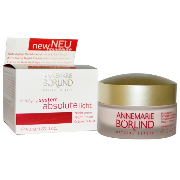 AnneMarie Borlind, System Absolute Light, Anti-Aging Night Cream, 1.69 fl oz (50 ml) (Discontinued Item)