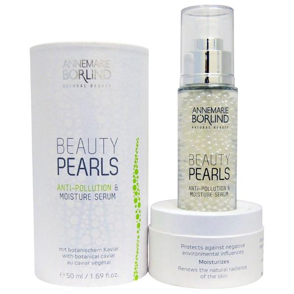 AnneMarie Borlind, Beauty Pearls, Anti-Pollution & Moisture Serum, 1.69 fl oz (50 ml) (Discontinued Item)