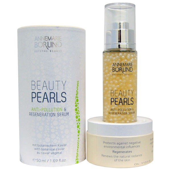 AnneMarie Borlind, Beauty Pearls, Anti-Pollution & Regeneration Serum, 1.69 fl oz (50 ml) (Discontinued Item)