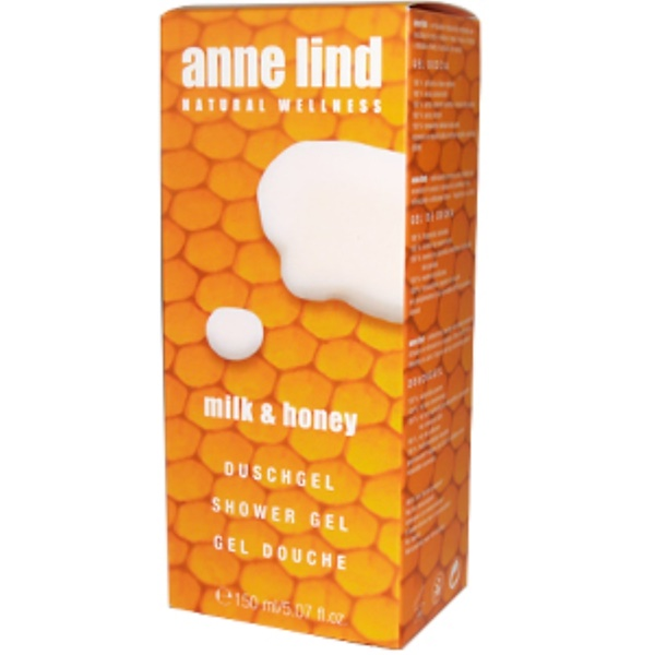 AnneMarie Borlind, Milk & Honey, Shower Gel, 5.07 fl oz (150 ml) (Discontinued Item)
