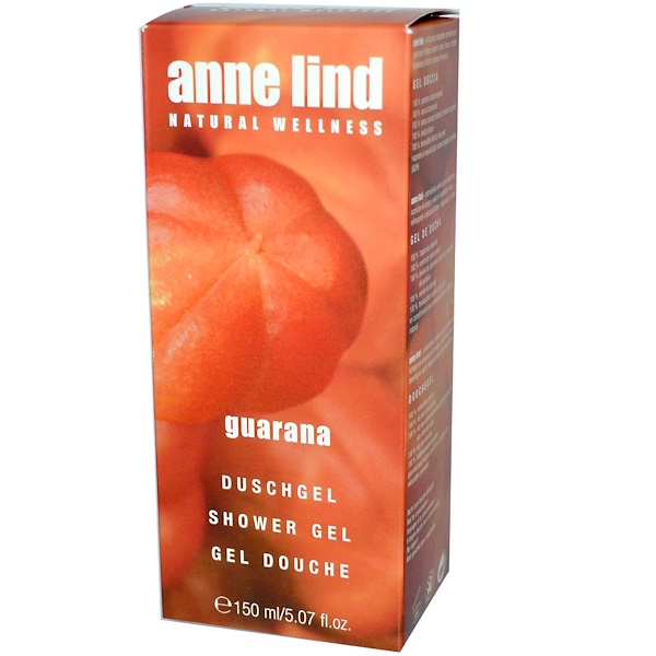 AnneMarie Borlind, Shower Gel, Guarana, 5.07 fl oz (150 ml) (Discontinued Item)
