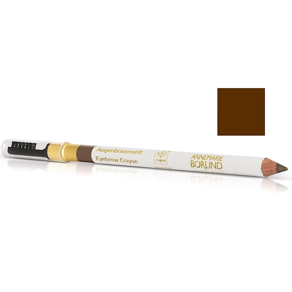 AnneMarie Borlind, Eyebrow Crayon, Brown Pearl, .03 oz (1.05 g) (Discontinued Item)