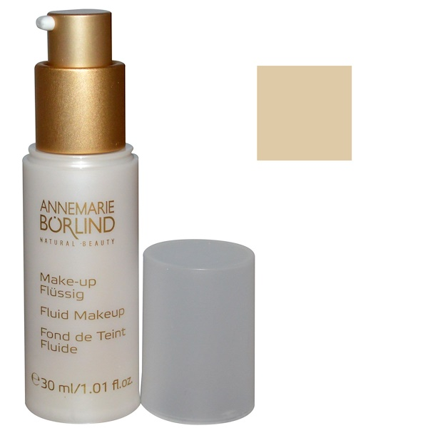 AnneMarie Borlind, Fluid Makeup, Ivory 15, 1.01 fl oz (30 ml) (Discontinued Item)