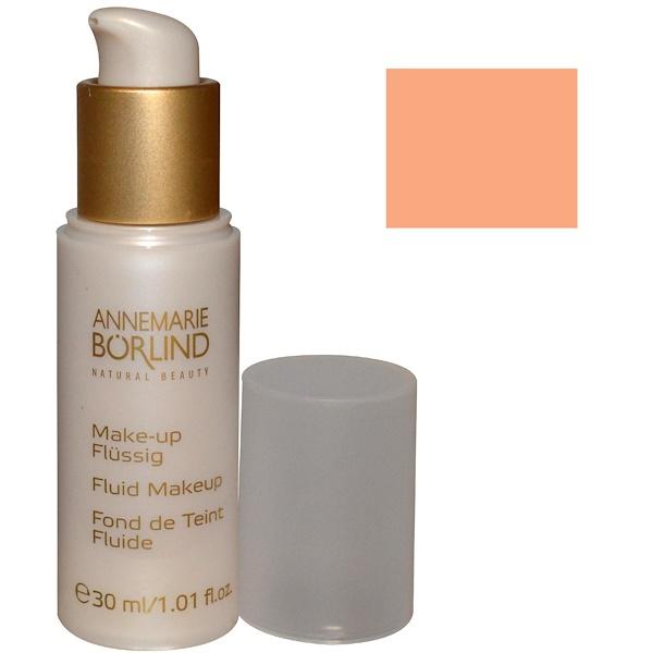 AnneMarie Borlind, Fluid Makeup, Beige 17K, 1.01 fl oz (30 ml) (Discontinued Item)
