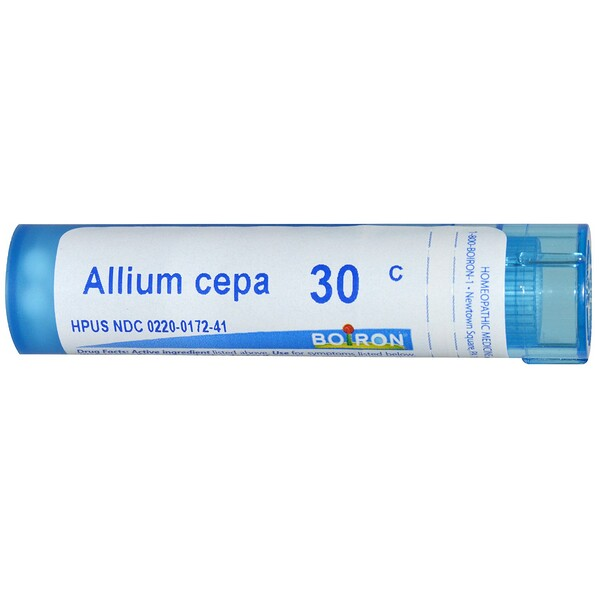 Boiron, Single Remedies, Allium Cepa, 30C, Approx 80 Pellets