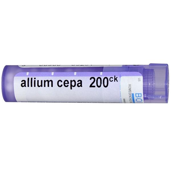 Boiron, Single Remedies, Allium Cepa, 200CK, Approx. 80 Pellets (Discontinued Item)