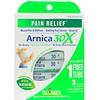 Boiron, Single Remedies, Arnica 30X, 3 tubos, Aprox. 80 bolitas de disolución rápida cada uno