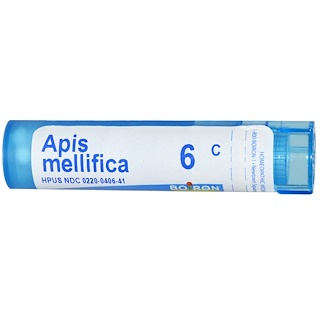 Boiron, Single Remedies, Apis Mellifica, 6C, Aproximadamente 80 bolitas