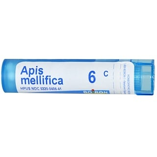 Boiron, Single Remedies, Apis Mellifica, 6C, Approx 80 Pellets