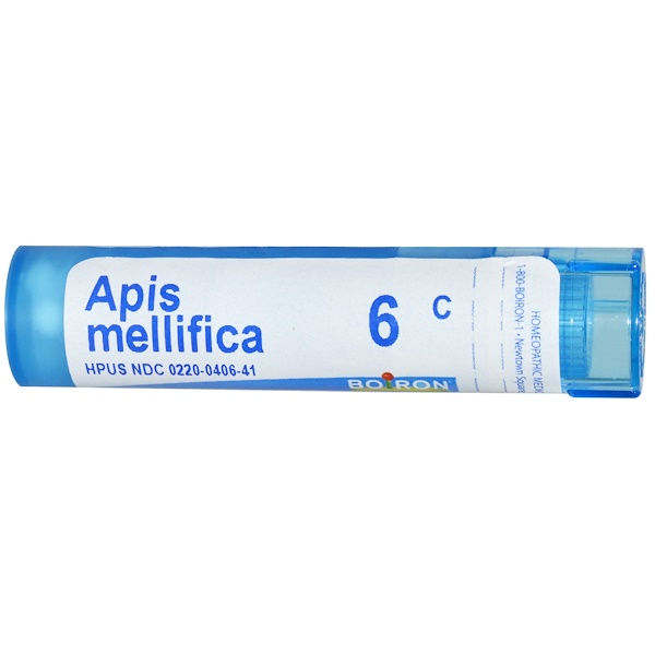 Boiron, Single Remedies, Apis Mellifica, 6C, Circa 80 Globuli (Discontinued Item)