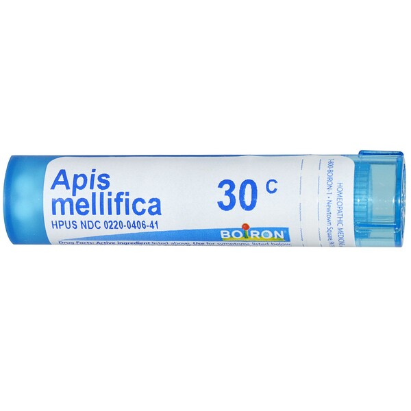 Boiron, Single Remedies, Apis Mellifica, 30C, Aproximadamente 80 bolitas