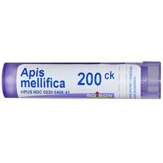 Boiron, Single Remedies, Apis Mellifica(アピス メリフィカ)、200CK、約80ペレット