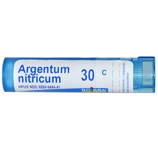 Boiron, Single Remedies, Argentum Nitricum, 30C, Approx 80 Pellets