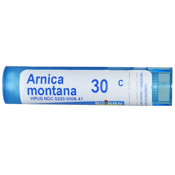 Boiron, Single Remedies, Arnica Montana, 30C, Approx 80 Pellets
