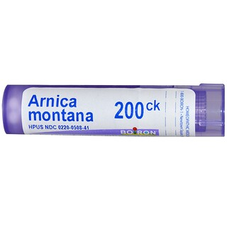 Boiron, Single Remedies, Arnica Montana, 200CK, Approx 80 Bolitas