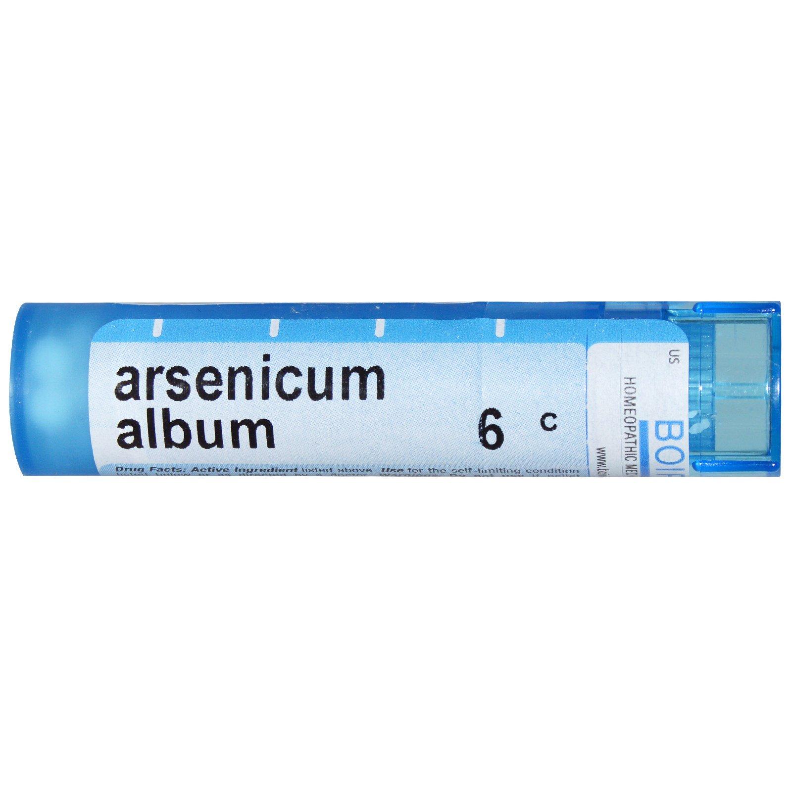 Boiron, Single Remedies, Arsenicum Album, 6C, 80 Pellets