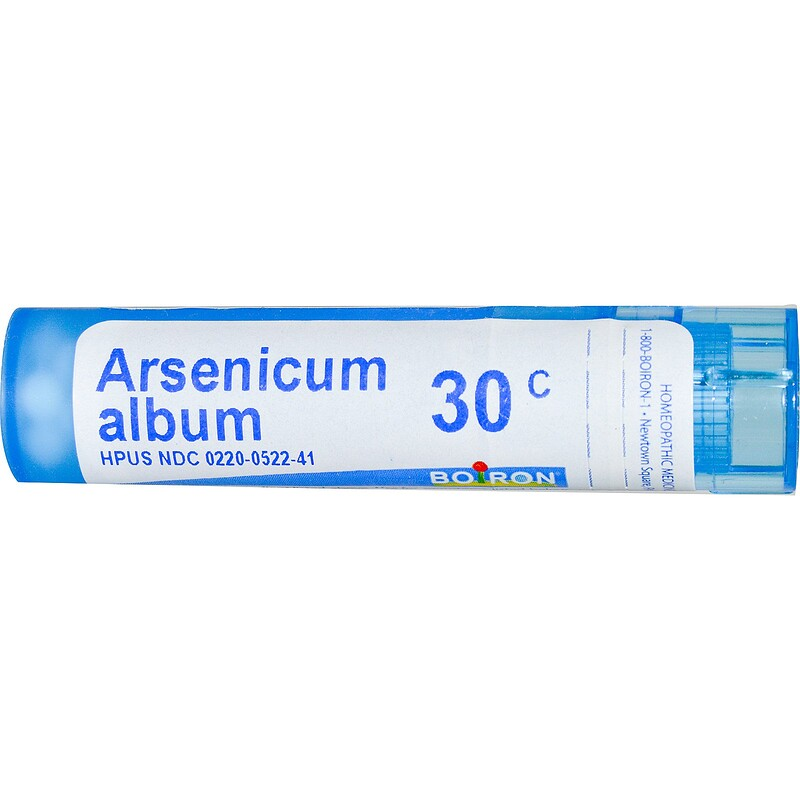 Arsenicum Album, 30C, Approx 80 Pellets