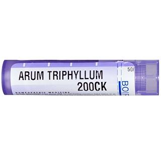 Boiron, Single Remedies, Arum Triphyllum, 200CK, Approx 80 Pellets